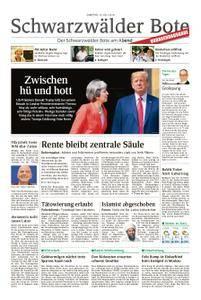 Schwarzwälder Bote Hechingen - 14. Juli 2018