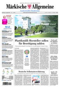 Märkische Allgemeine Luckenwalder Rundschau - 13. August 2019