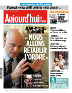 Aujourd'hui en France du Lundi 22 Octobre 2018