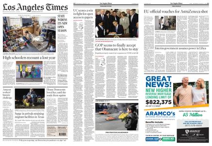 Los Angeles Times – March 17, 2021