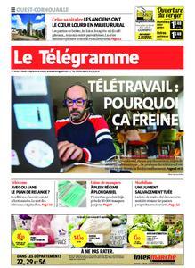Le Télégramme Ouest Cornouaille – 03 septembre 2020