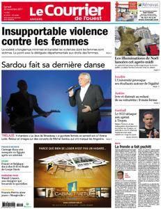 Le Courrier de l'Ouest Angers - 25 novembre 2017