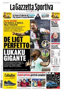 La Gazzetta dello Sport Roma – 03 novembre 2019