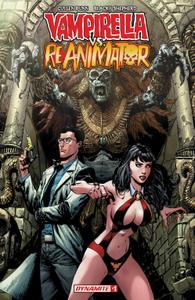 Vampirella vs Reanimator 001 2018 4 covers Digital F DR & Quinch