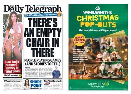 The Daily Telegraph (Sydney) – November 14, 2018