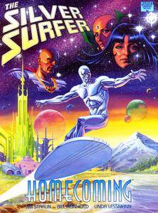 Marvel Graphic Novel 71 - Silver Surfer - Homecoming