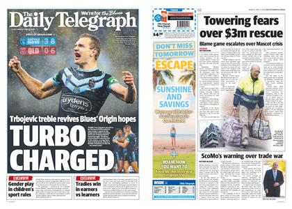 The Daily Telegraph (Sydney) – June 24, 2019
