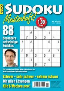 Sudoku Meisterhaft Nr.4 - 24 April 2020