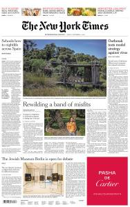 International New York Times - 4 September 2020