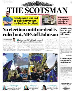 The Scotsman - 5 September 2019