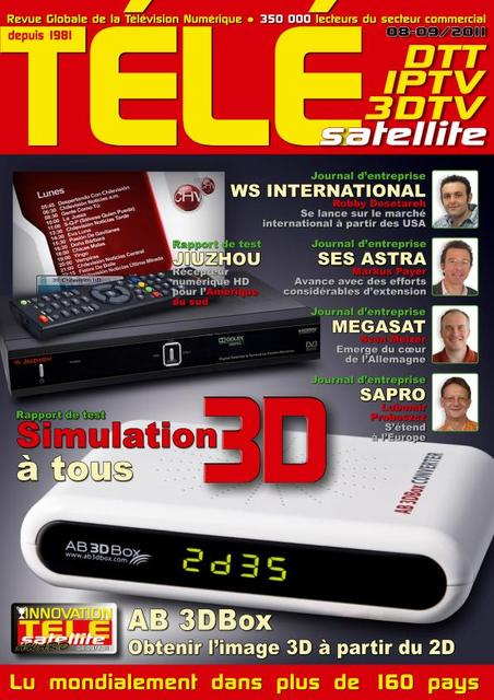 Tele Satellite N°1109 - Aout./Septembre 2011
