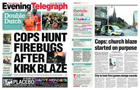 Evening Telegraph First Edition – September 07, 2017