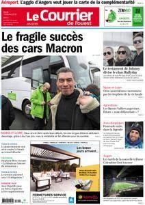 Le Courrier de l'Ouest Angers - 13 février 2018