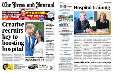 The Press and Journal Moray – November 28, 2017