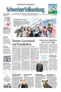 Schweriner Volkszeitung Hagenower Kreisblatt - 20. April 2018