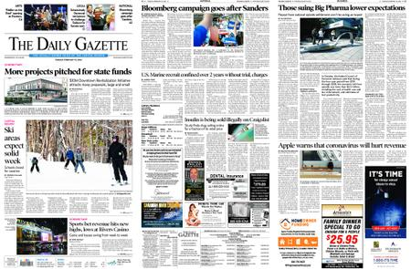 The Daily Gazette – February 18, 2020