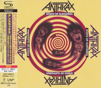 Anthrax - State Of Euphoria (1988) [2019, 30th Anniversary Ed., Japan]