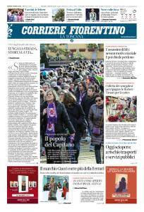 Corriere Fiorentino La Toscana - 8 Marzo 2018