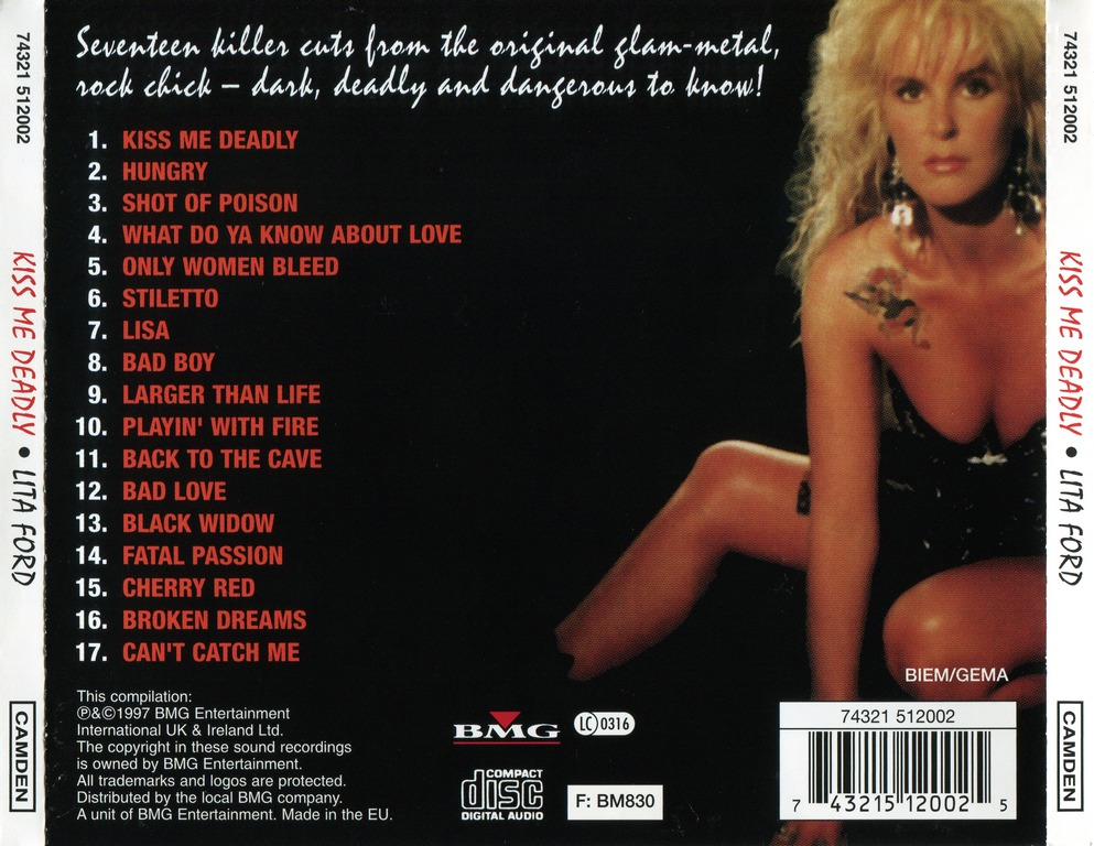 Lita Ford - Kiss Me Deadly (1997)