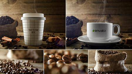 Gourmet Coffee - Project for After Effects (VideoHive)