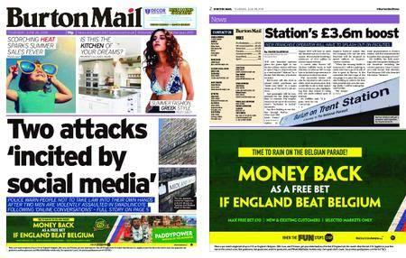 Burton Mail – June 28, 2018
