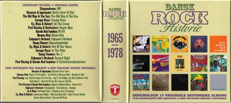 VA - Dansk Rock Historie 1965-1978. Box Gul (2010) [11CD Box Set]
