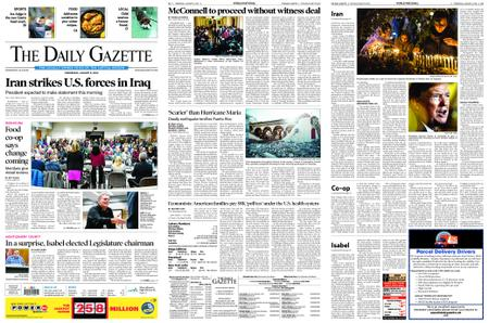 The Daily Gazette – January 08, 2020