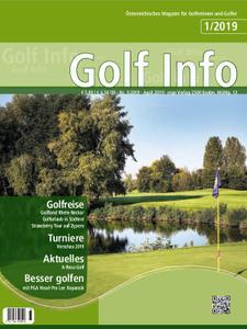 Golf Info – April 2019