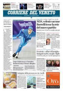 Corriere del Veneto Padova e Rovigo - 16 Febbraio 2018