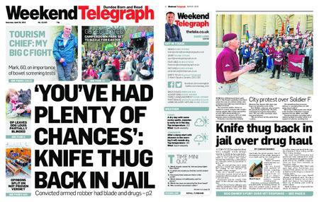Evening Telegraph First Edition – April 20, 2019