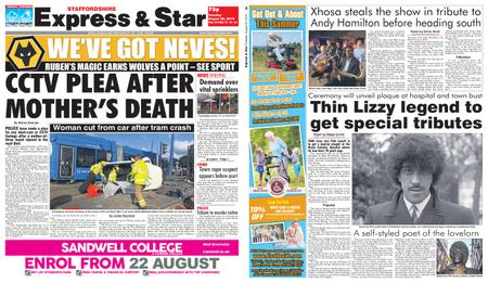 Express and Star Staffordshire Edition – August 20, 2019