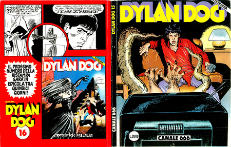 Dylan Dog - Volume 15 - Canale 666 (Ristampa)