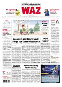 WAZ Westdeutsche Allgemeine Zeitung Oberhausen-Sterkrade - 12. Dezember 2018