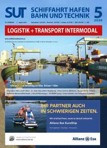 Schiffahrt Hafen Bahn und Technik - August 2020