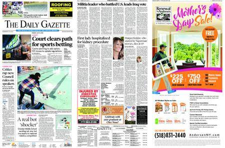 The Daily Gazette – May 15, 2018