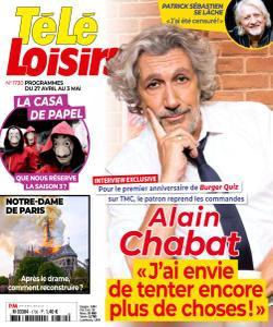 Télé Loisirs - 22 Avril 2019