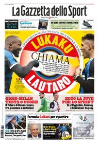 La Gazzetta dello Sport Roma – 10 aprile 2020