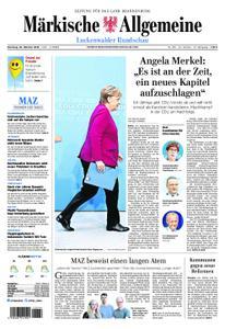 Märkische Allgemeine Luckenwalder Rundschau - 30. Oktober 2018