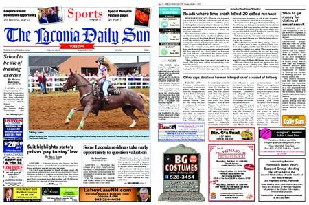 The Laconia Daily Sun – October 09, 2018