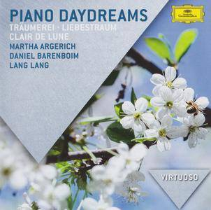 Various Artists - Piano Daydreams - Argerich, Lang, Barenboim (2016) {Deutsche Grammophon Virtuoso Series 483 0395}