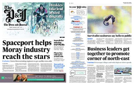 The Press and Journal Moray – January 28, 2019