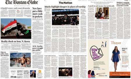 The Boston Globe – January 02, 2020