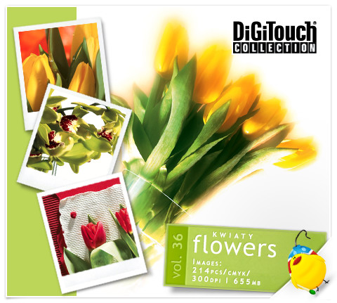 DigiTouch Vol. 36 - Flowers