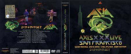 Asia - Axis XXX Live In San Francisco (2015)