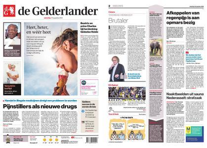 De Gelderlander - Arnhem – 24 augustus 2019