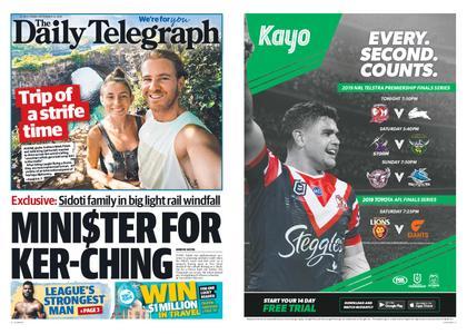The Daily Telegraph (Sydney) – September 13, 2019