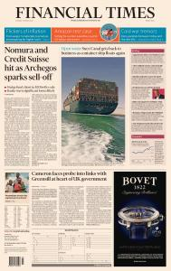 Financial Times Middle East - March 30, 2021