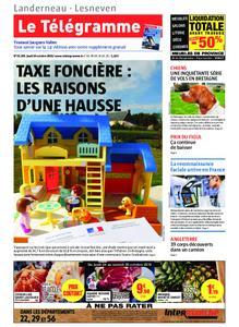 Le Télégramme Landerneau - Lesneven – 24 octobre 2019