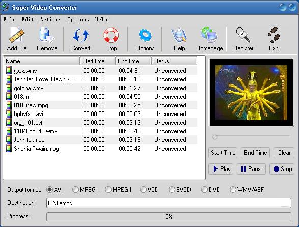 Super Video Converter ver. 2.8
