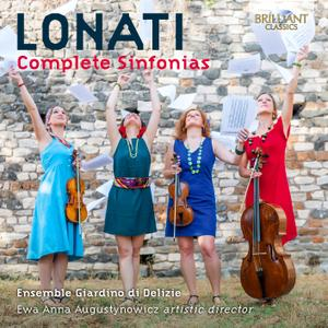 Carlo Ambrogio Lonati (c.1645–c.1712) - Complete Sinfonias - Ensemble Giardino di Delizie (2019) {2CD Brilliant Classics 95590}